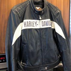 Manteau en cuir Harley Davidson